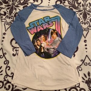 Star Wars Medium 3/4 sleeve shirt vintage